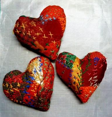 Hjerte a side